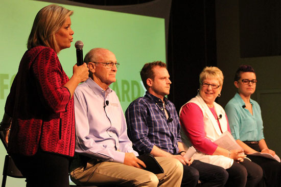 Focus Forward panel with Shelly Prichard - photo courtesy of WCF