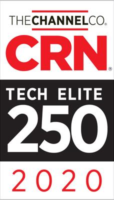 2020 CRN Tech Elite 250 badge