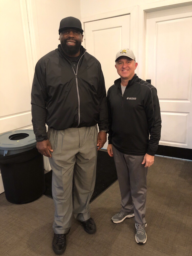 "Ed ""Too Tall"" Jones & Kevin Colborn"