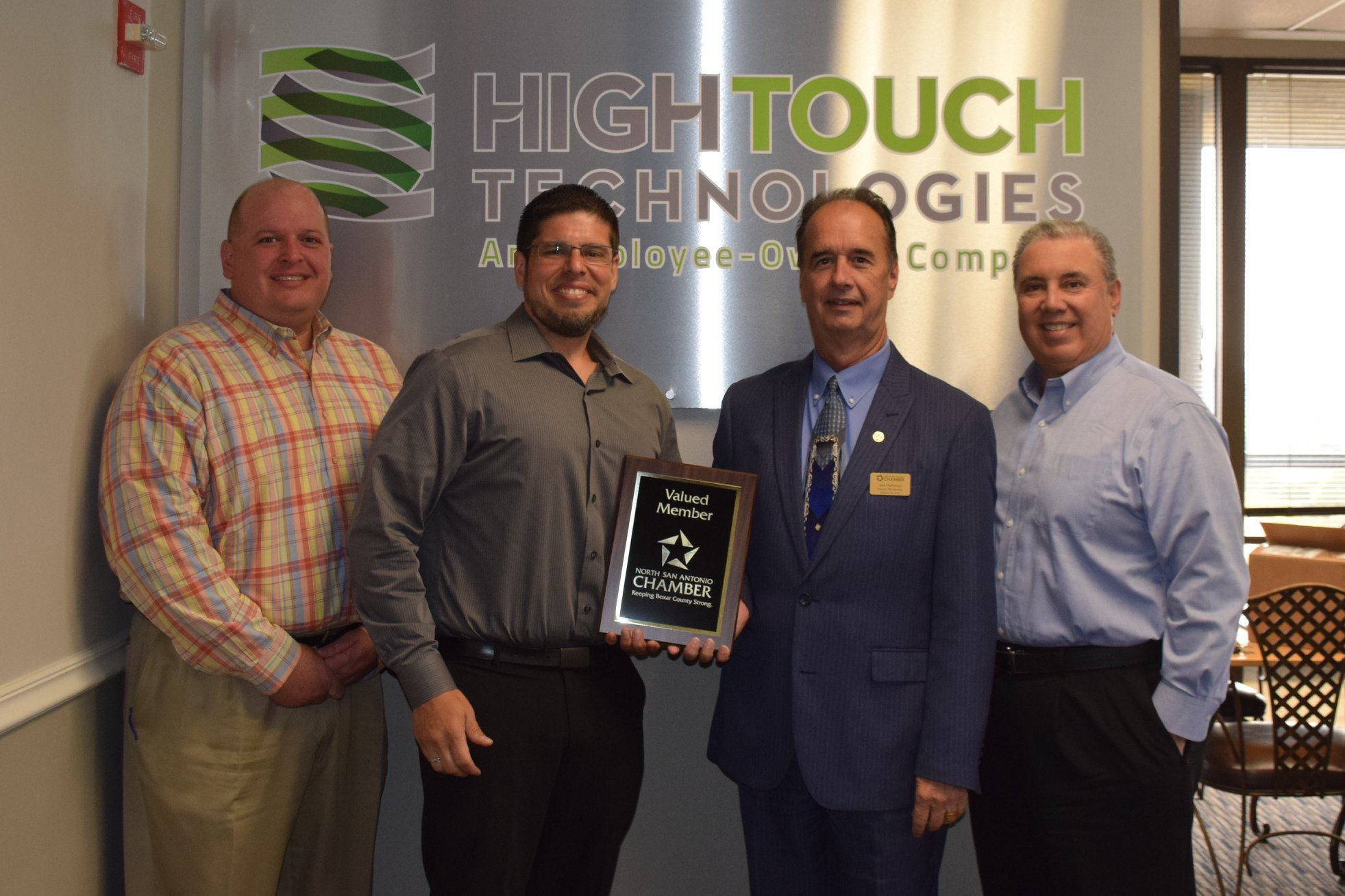 High Touch representatives with San Antonio Chamber of Commerce