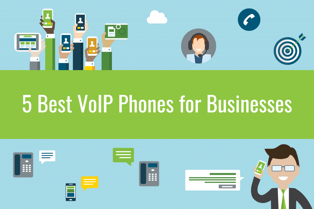 5 Best VoIP Phones for Business