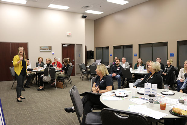 Lindsay Boxberger Chamber Small Business Roundtable