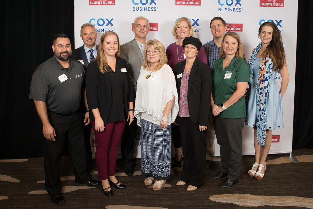 2019 Wichita Business Journal Diversity and Inclusion Awards High Touch Group