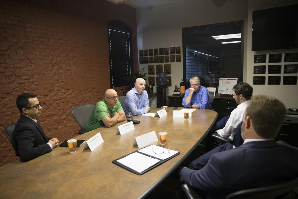 Wichita Business Journal Cybersecurity Experts (photo courtesy of the WBJ)