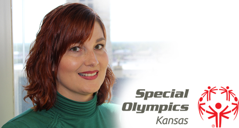 Jennifer Hughes Special Olympics of Kansas Award