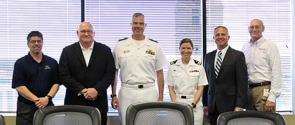 U.S. Navy cybersecurity visit