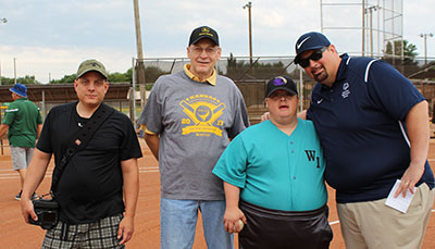 Special Olympics Kansas Softball Tournament