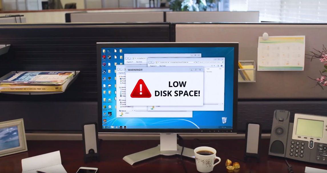 computer resources disk space